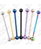 Colour Plated Surgical Steel Ball Industrial Scaffold