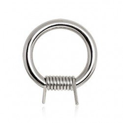 Surgical Steel Barbed Wire Captive Bead Ring BCR