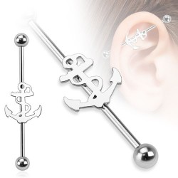 Surgical Steel Sailor Ships / Anchor Industrial / Scaffold Barbell