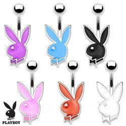 Surgical Steel Genuine Playboy Bunny Rabbit Petite Belly / Navel Bar