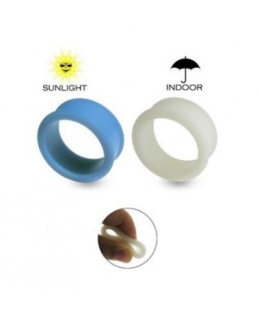 Silicone Colour Changing Ear Tunnel