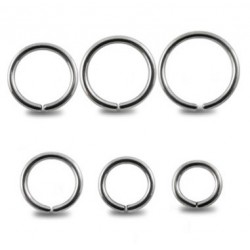 Surgical Steel Eyebrow / Nose Cartilage Ring / Hoop