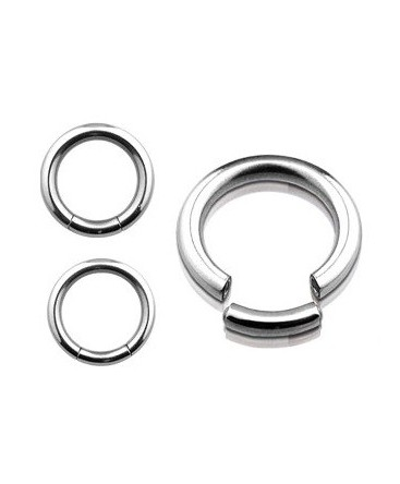 Surgical Steel Segment Ring Nose / Tragus Piercing