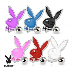 Surgical Steel Genuine Playboy Bunny Rabbit Tragus / Cartilage / Helix / Conch / Stud