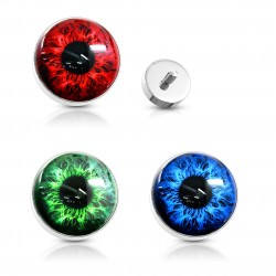 Surgical Steel Eye / Eyeball Dermal Anchor