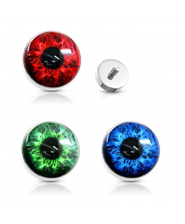 Surgical Steel Eye / Eyeball Dermal Anchor