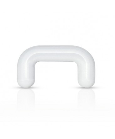 Clear Acrylic Nose / Septum Retainer / Keeper Bar