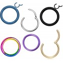 Hinged Segment Ring Septum Clicker